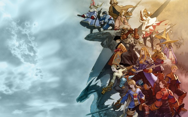Some of the characters and classes available in Final Fantasy Tactics.