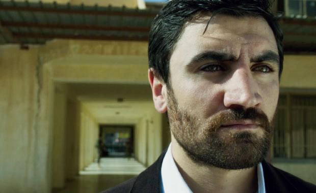 Korkmaz Arslan as Baran, the sheriff