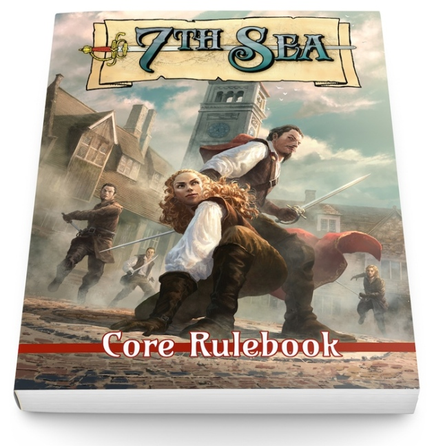 A mock-up of the cover for the core rulebook
