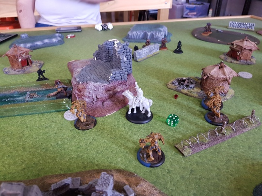 Pic 9 - Juggernauts move to secure the objective